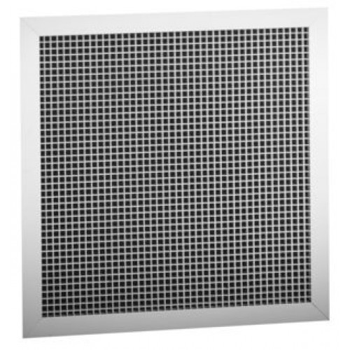 Re5t Aluminum Eggcrate Return Air Grille Bright White