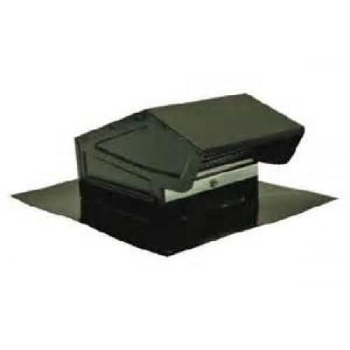 Broan Roof Cap Black Round Duct