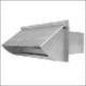 201VH 3-1/4x10 ALUMINUM WALL CAP
