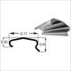 DOMCLT 6in Metal Cleat 20 Gauge (Box of 500)