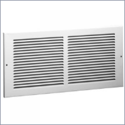 650 steel return air grille 1 3in fin spacing for 14x6 floor register