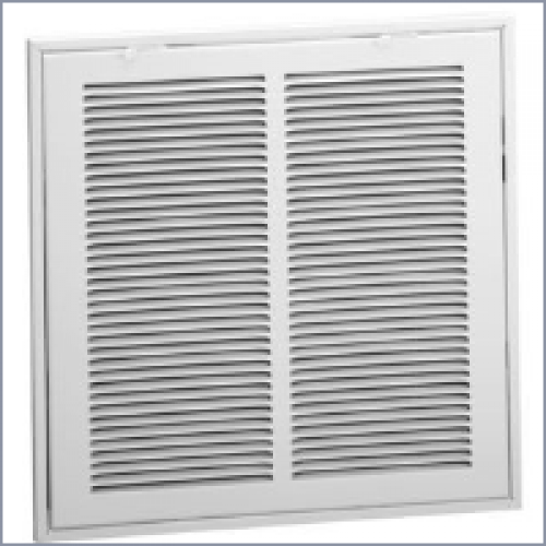 659 Steel Return Air Filter Grille 1 3in Fin Spacing