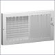 664 Steel Baseboard Register, Multi-Shutter Damper