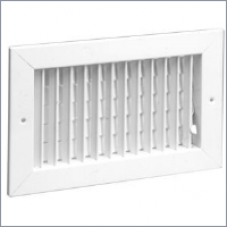 Commercial registers grilles 821 steel register for 14x6 floor register
