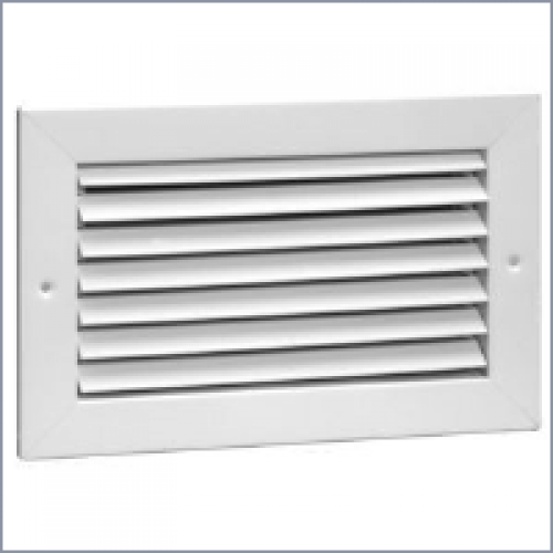 94a steel return air grille 35 degree fixed blade no damper for 14x6 floor register